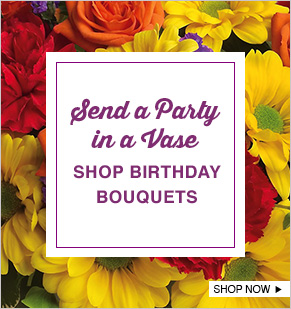 Send a Party in a Vase. Shop Birthday Bouquets.