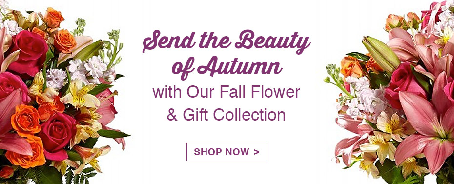 Send the Beauty of Autumn with Our Fall Flower & Gift Collection