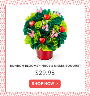 BonBon Blooms™ Hugs and Kisses Bouquet