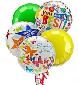 Balloons: Balloon Bouquet-5 Mylar