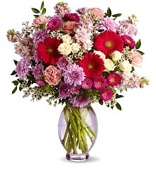 Flower Bouquets: Perfectly Pleasing Pinks