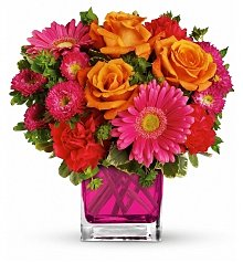 Flower Bouquets: Playfully Pink