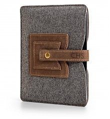 Personalized Keepsake Gifts: Embossed Leather Tablet Sleeve
