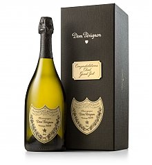 Personalized Wine Gifts: Dom Perignon with Personalized Gift Box