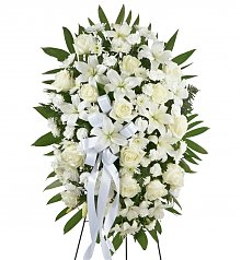 Funeral Flowers: Exquisite Tribute Spray
