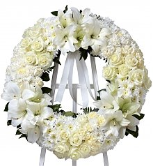 Funeral Flowers: Wreath Of Remembrance
