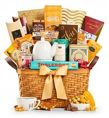 Coffee & Tea Gift Baskets: Afternoon Tea Basket