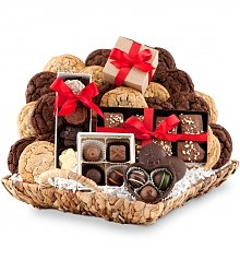 Cookie Gift Baskets: Chocolate Paradise