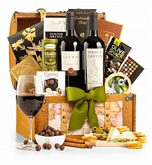 Wine Baskets: Around the World Wine Chest
